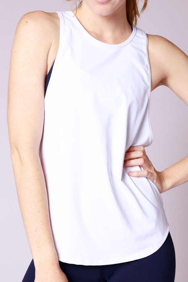 Giulia-drop-arm-White-Tank-3