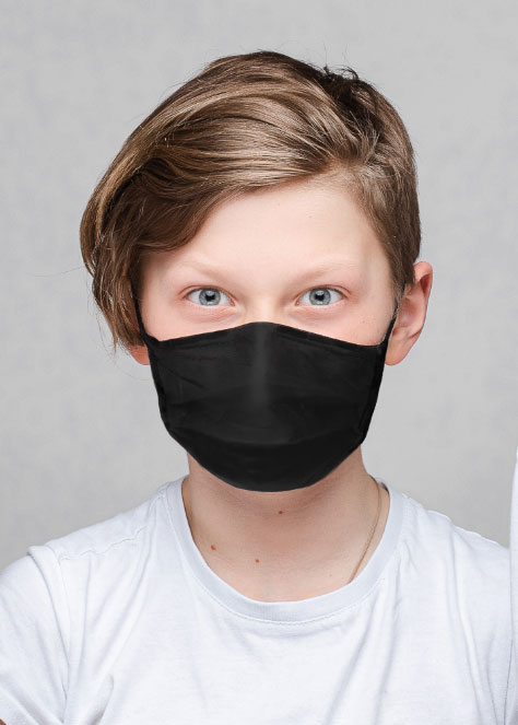 rollee-child-mask-black